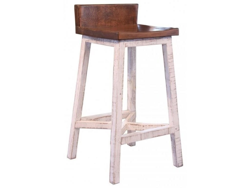 International Furniture Direct PuebloBar and 2 Stools Set