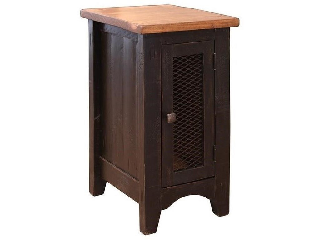 International Furniture Direct PuebloCocktail Table, End Table and Chairside Tabl