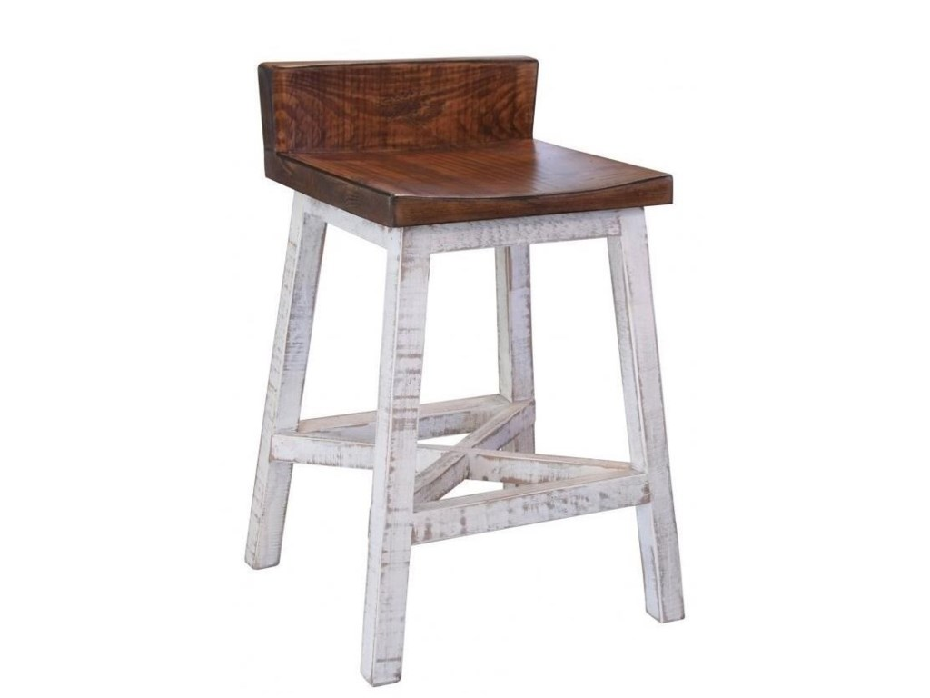 IFD International Furniture Direct PuebloCounter Height Stool