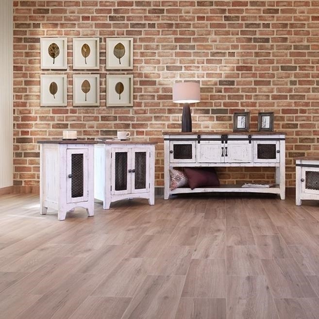 International Furniture Direct PuebloChairside Table
