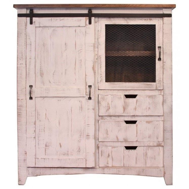 International Furniture Direct PuebloGentleman's Chest