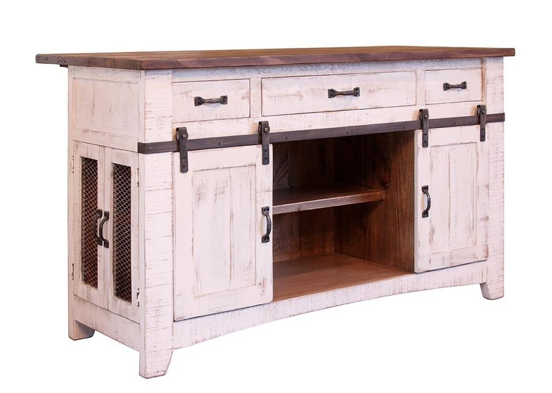 International Furniture Direct PuebloKitchen Island ...
