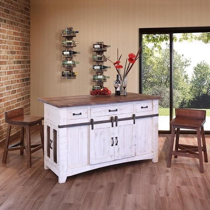 ... International Furniture Direct PuebloKitchen Island