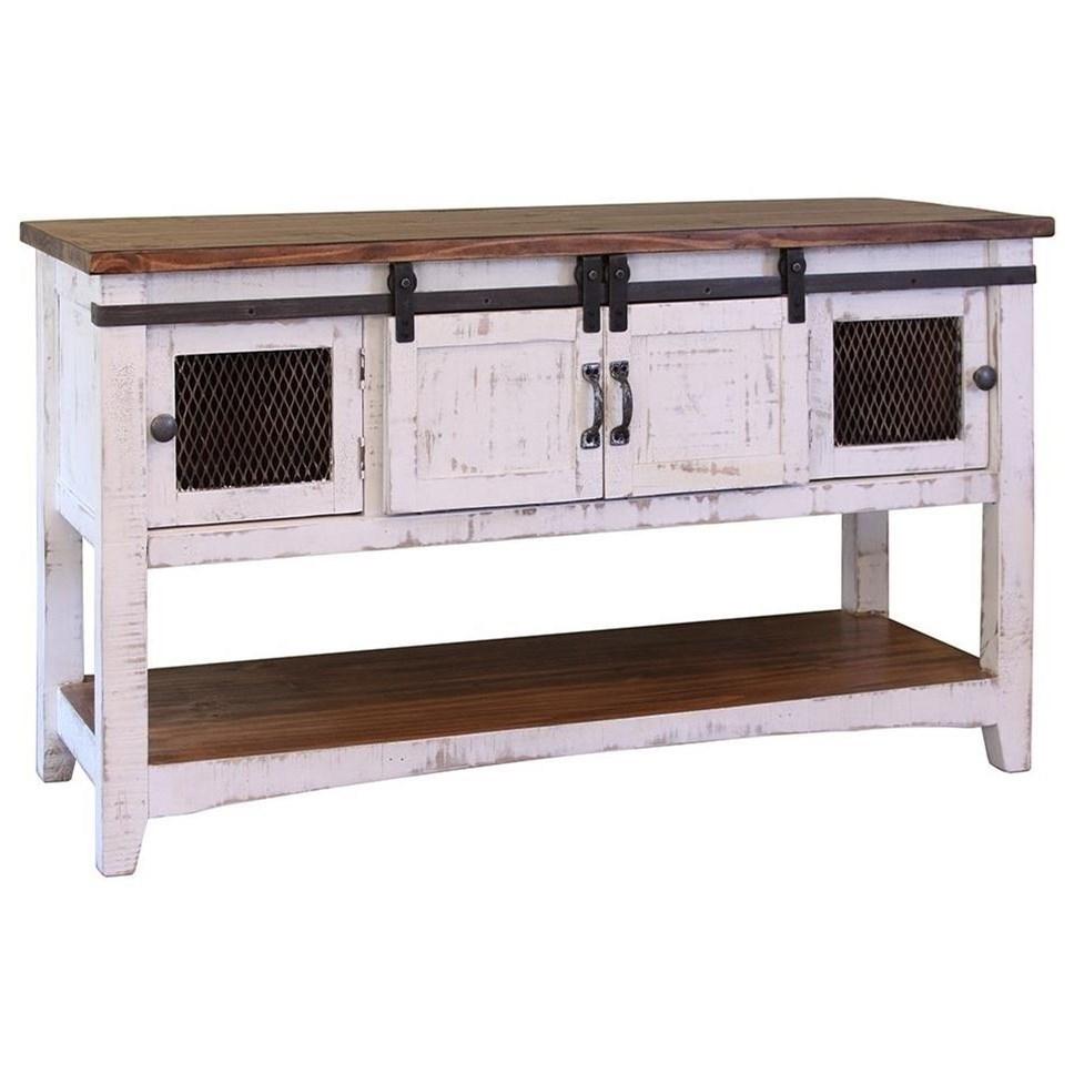 Wonderful International Furniture Direct PuebloSofa Table ...