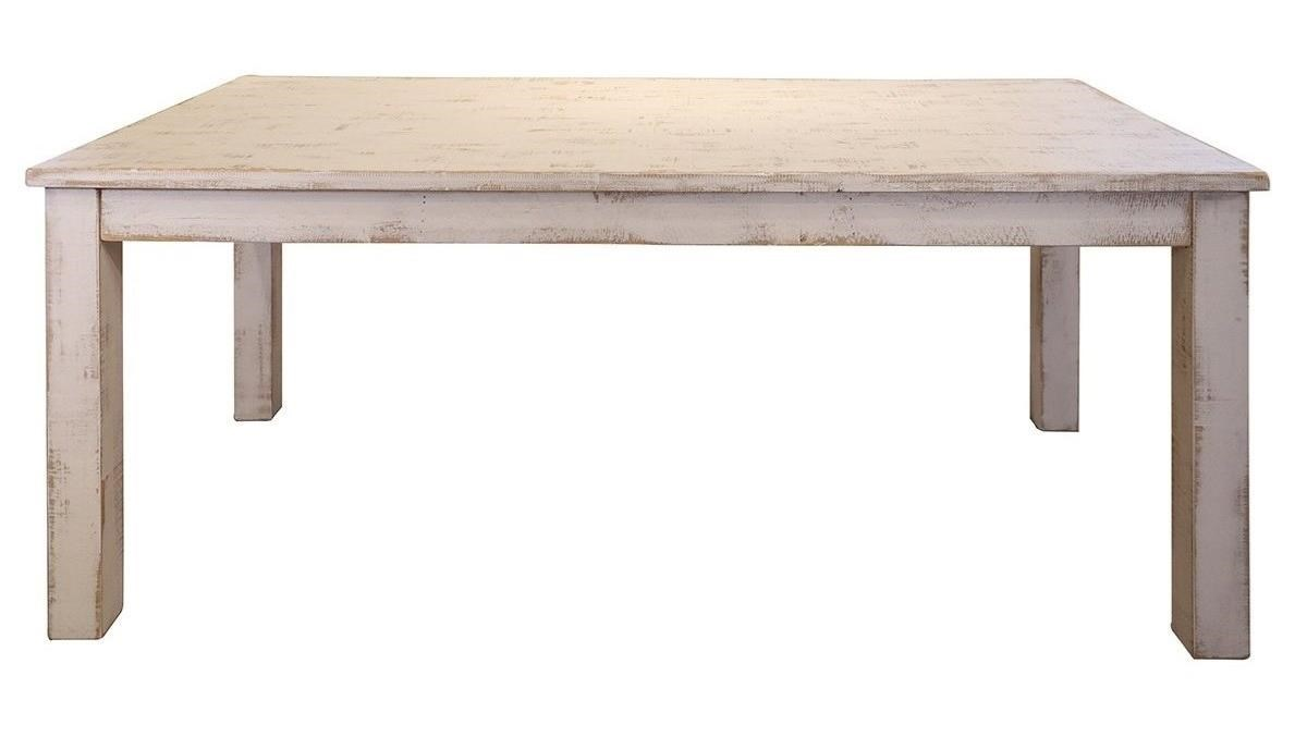 distressed wood dining table small international furniture direct pueblowood dining table pueblo ifd360table rustic wood