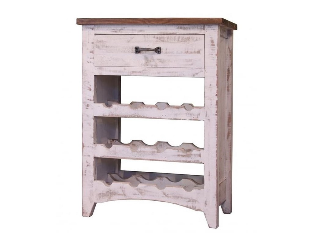 International Furniture Direct PuebloWine Rack