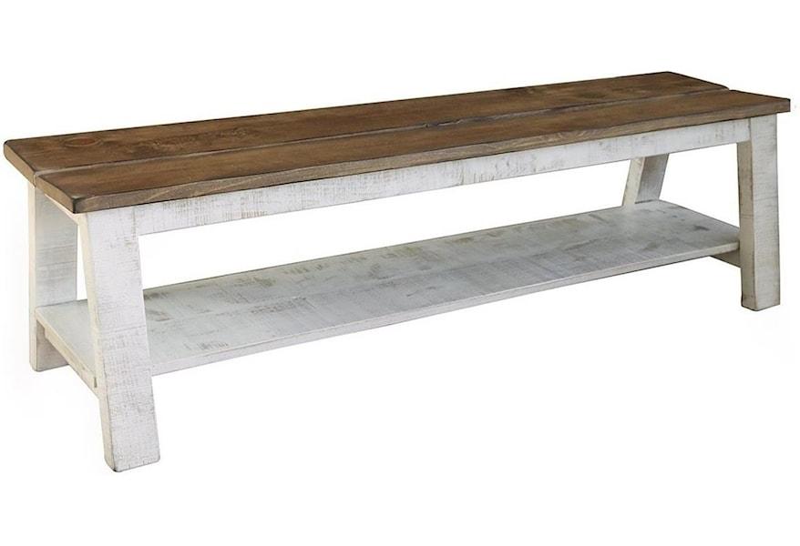 International Furniture Direct Pueblo Solid Wood Breakfast ...