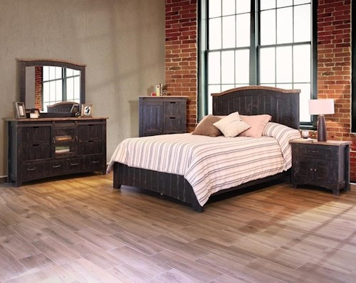 Artisan Home Pueblo California King Bedroom Group