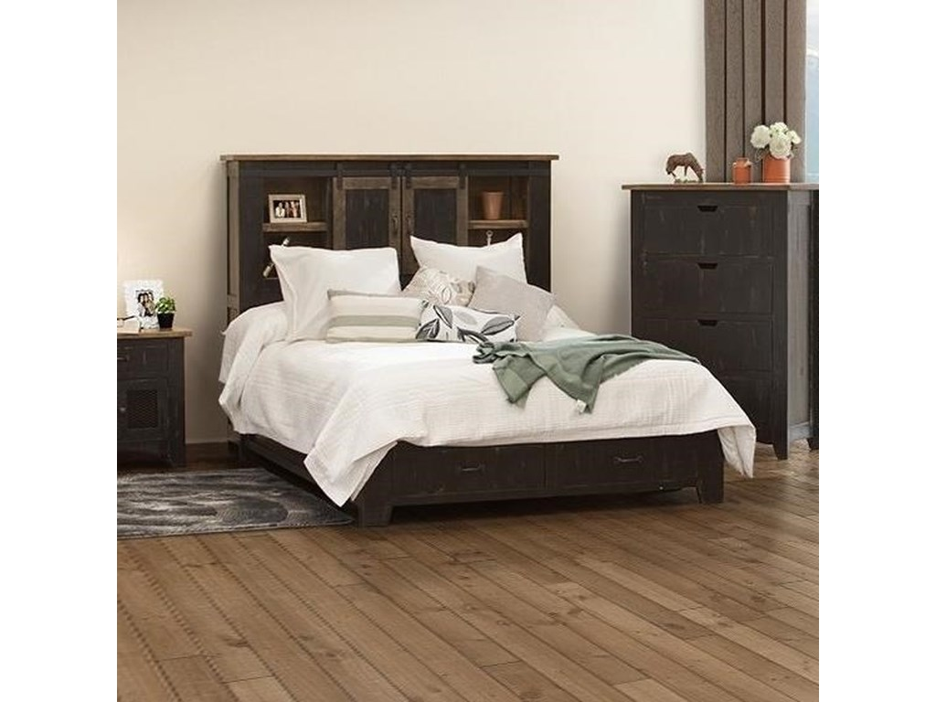 VFM Signature Pueblo6/6 Storage Bed