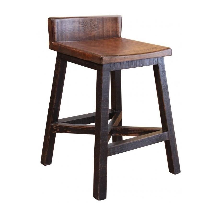 International Furniture Direct Pueblo 24 Counter Height Stool With