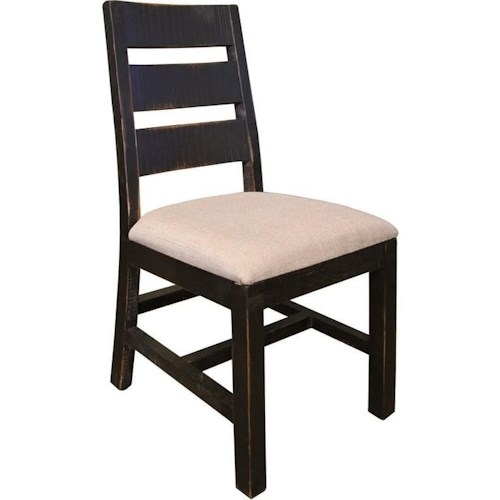 Artisan Home Pueblo Rustic Upholstered Side Chair
