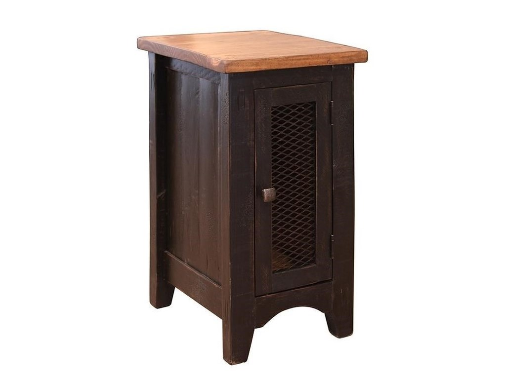 International Furniture Direct PuebloChairside Table