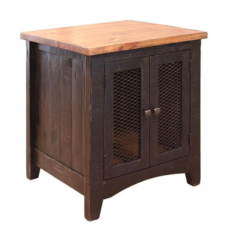 International Furniture Direct PuebloEnd Table