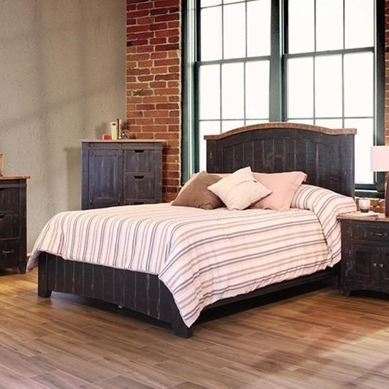 International Furniture Direct PuebloCal King Bed