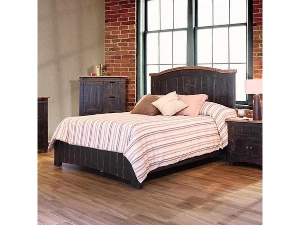 International Furniture Direct PuebloKing Bed