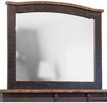 Artisan Home Pueblo Mirror with Distressed Frame
