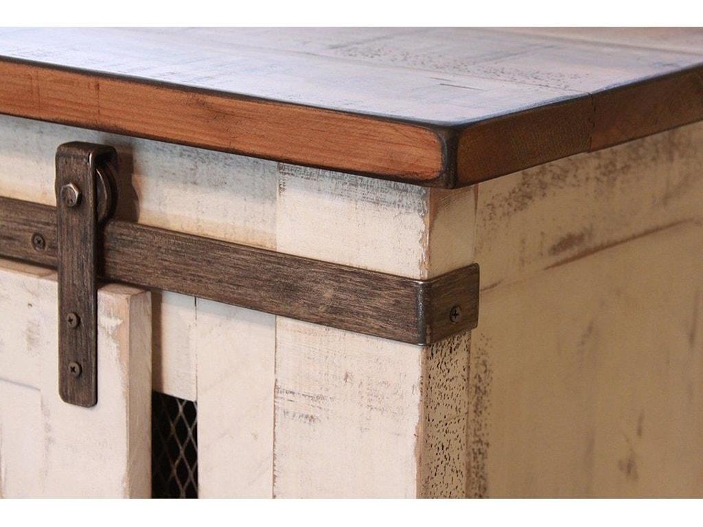 International Furniture Direct PUEBLO WHITE80
