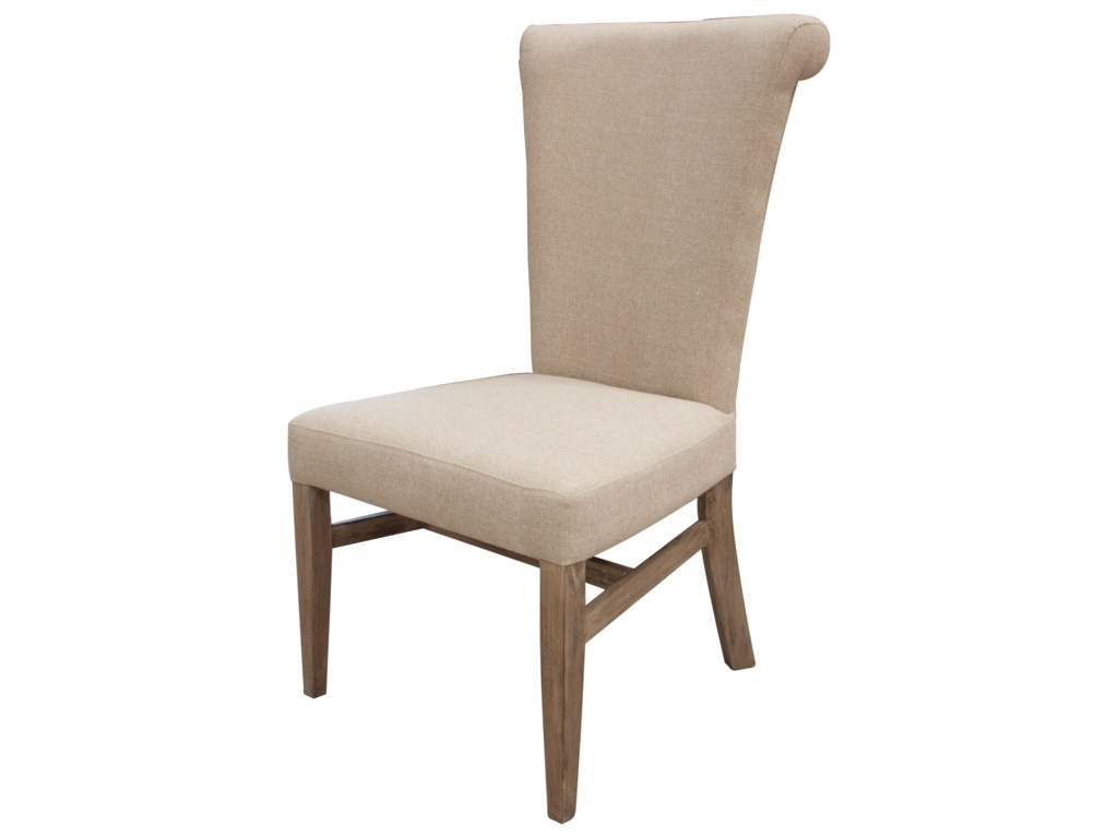 International Furniture Direct Bonanza SandUpholstered Side Chair