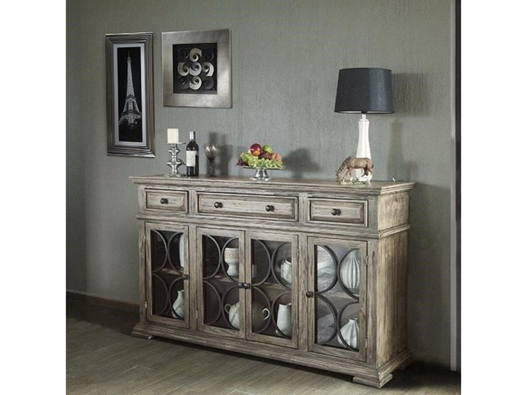 International Furniture Direct Bonanza SandSideboard