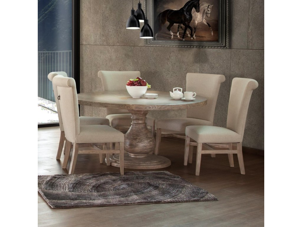 IF Bonanza Sand6 Piece Table and Chair Set