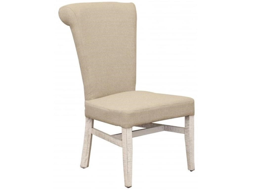 International Furniture Direct Bonanza IvoryUpholstered Side Chair