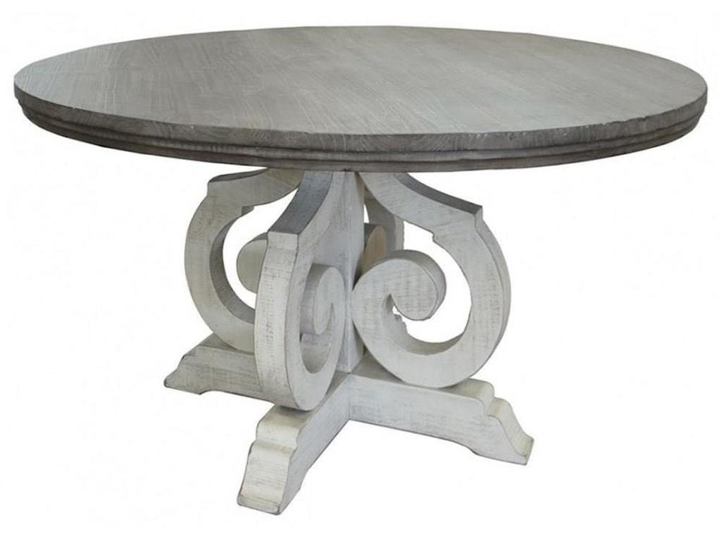 International Furniture Direct Stone8 PC Dining Room Set