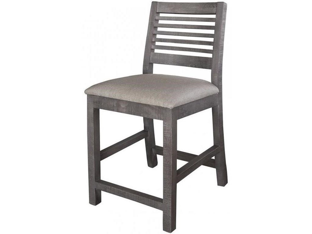 International Furniture Direct Stone9 PC Counter Height Table Set