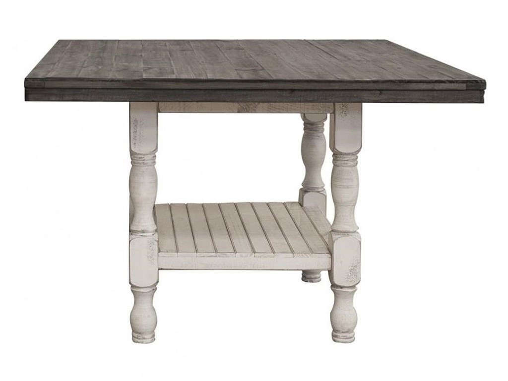 International Furniture Direct StoneSquare Gathering Height Table