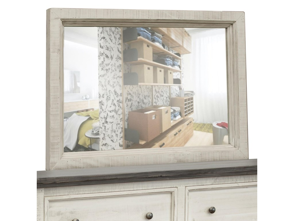 International Furniture Direct StoneDresser Mirror