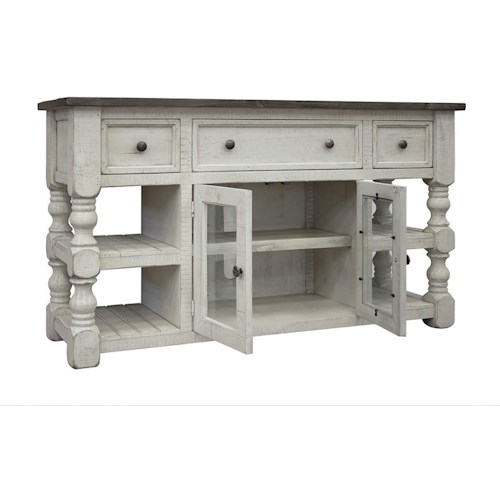 International Furniture Direct Stone Relaxed Vintage 60