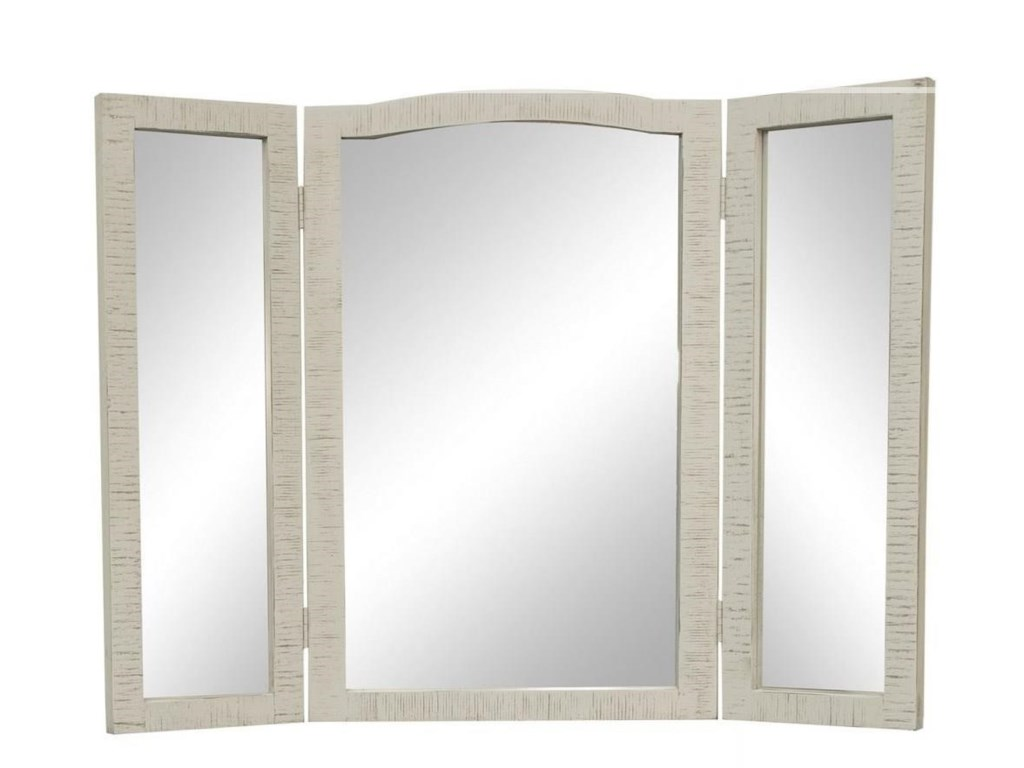 International Furniture Direct StoneVanity Mirror