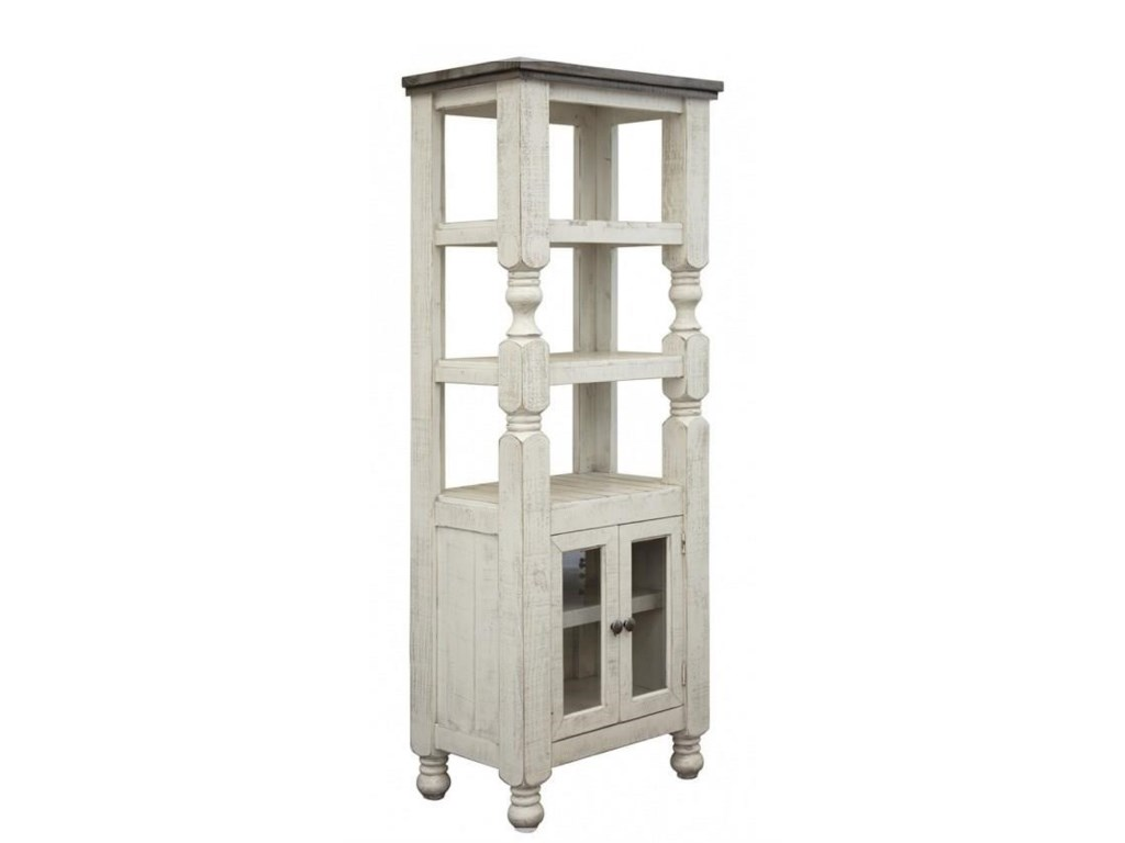 International Furniture Direct StoneBookcase
