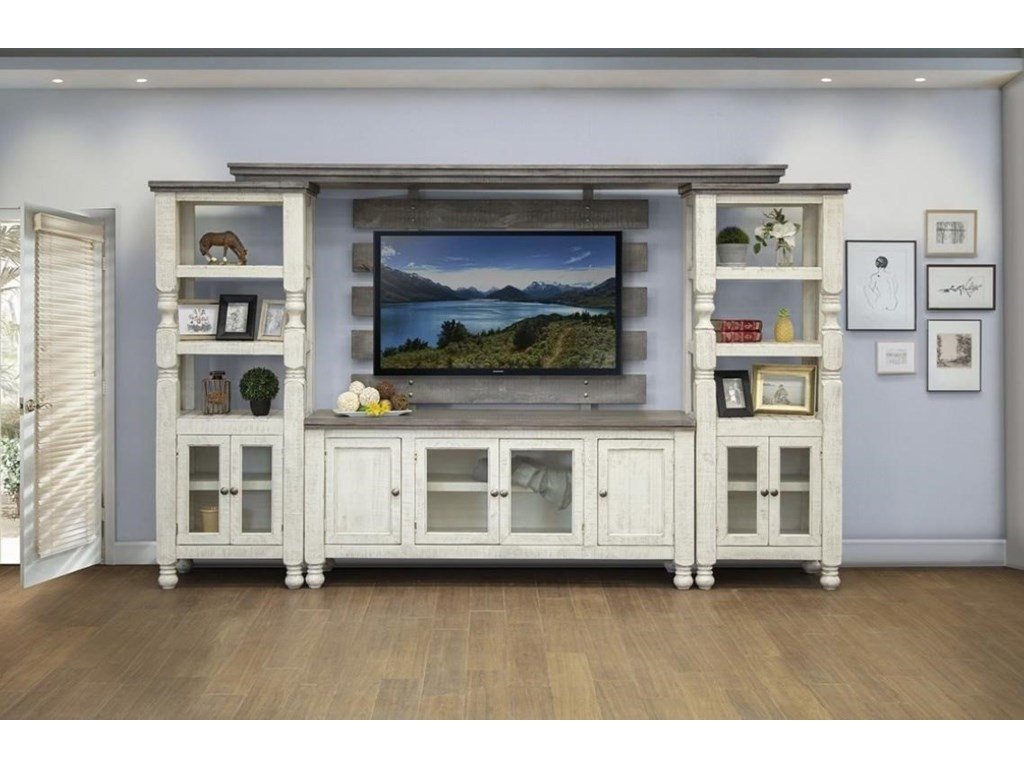 International Furniture Direct StoneEntertainment Center