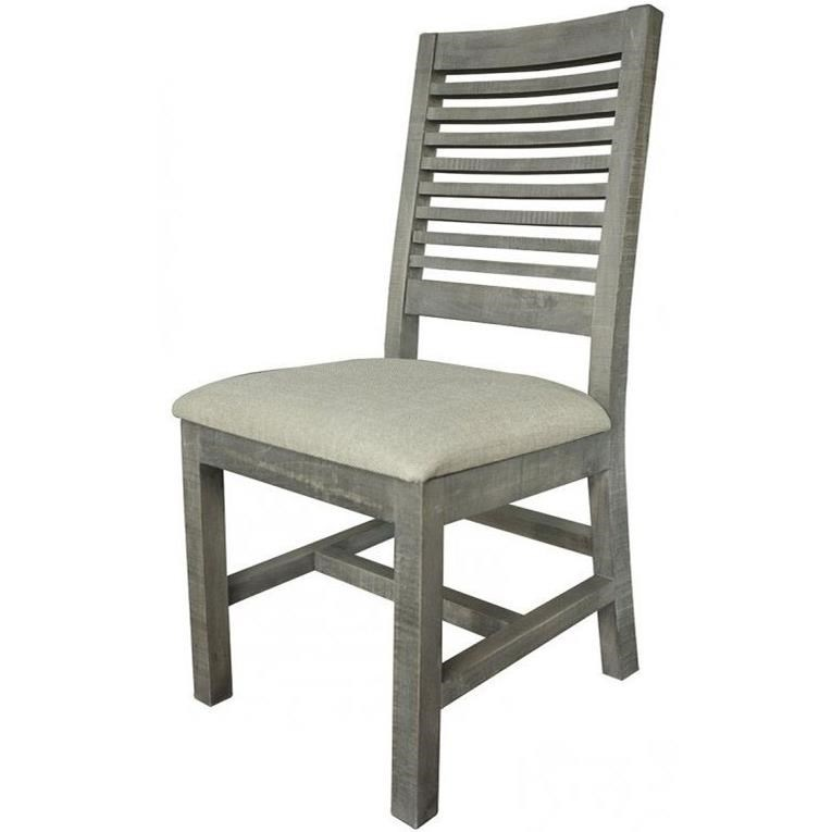 Delicieux International Furniture Direct Stone Transitional Solid Wood Ladder Back  Side Chair