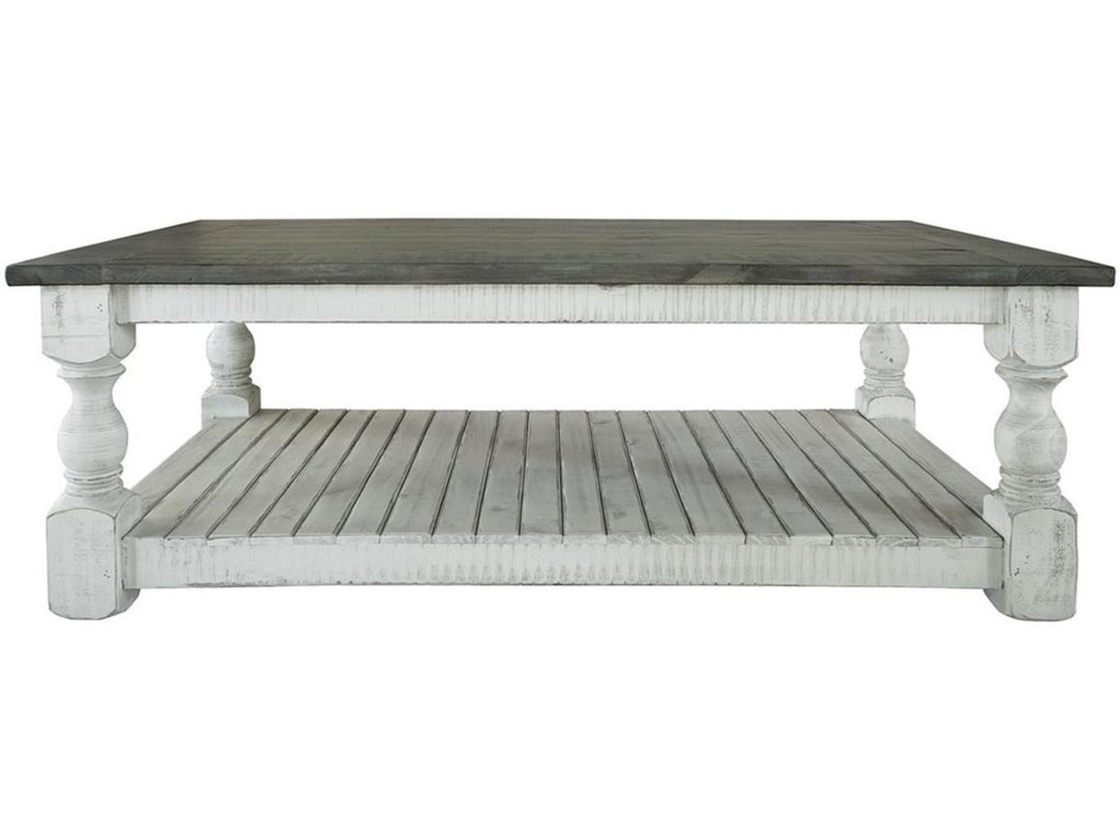 International Furniture Direct StoneCocktail Table