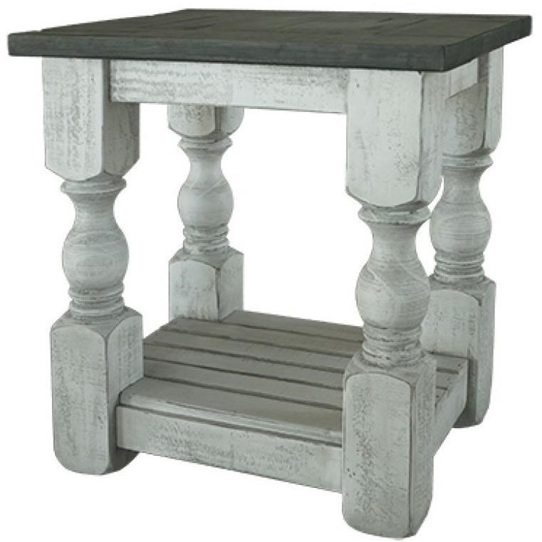 International Furniture Direct StoneChair Side Table