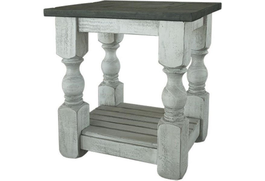 International Furniture Direct Stone IFD469CST Relaxed ...