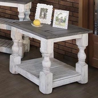 International Furniture Direct StoneEnd Table