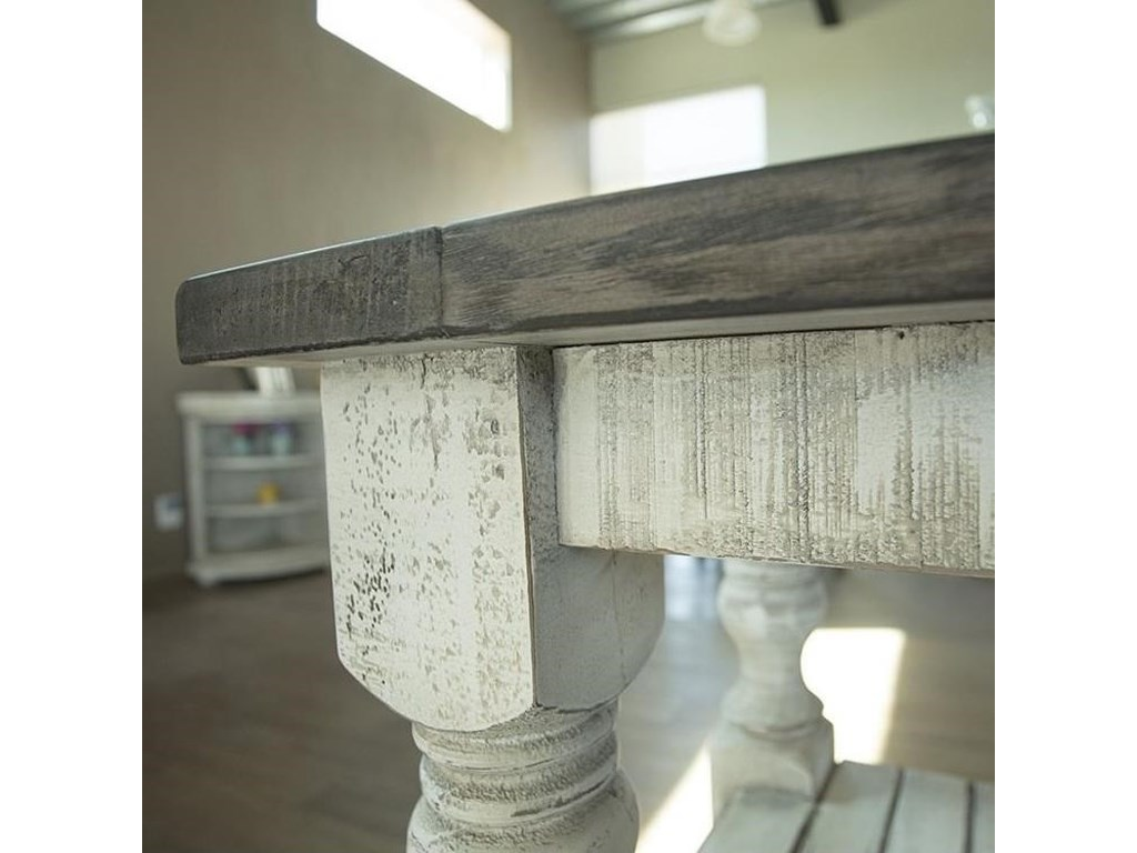 International Furniture Direct StoneEnd Table