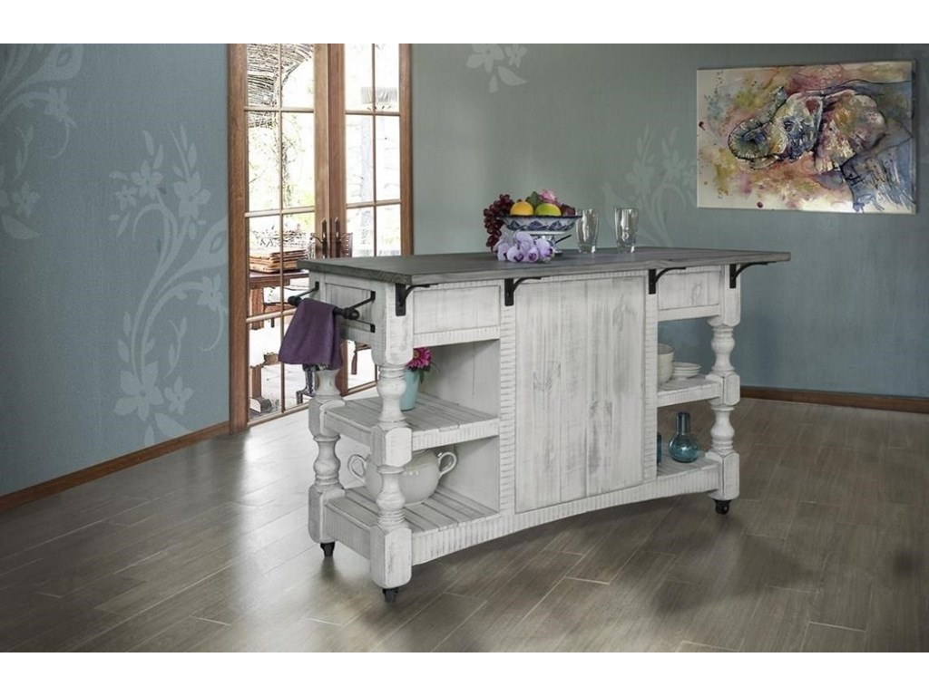 International Furniture Direct StoneKitchen Island