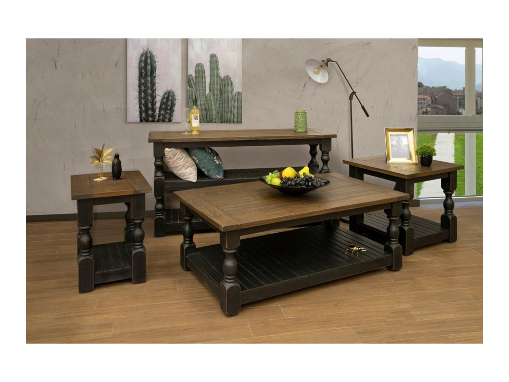 International Furniture Direct StoneSofa Table