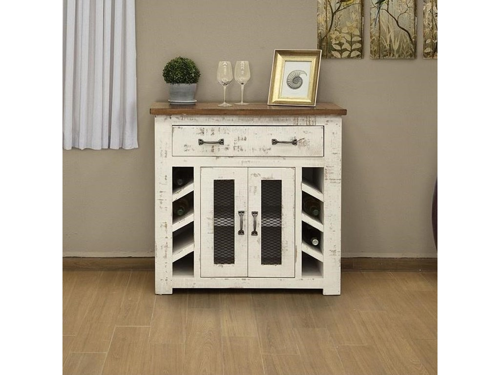 International Furniture Direct Xalapa1 Drawer, 2 Door Server