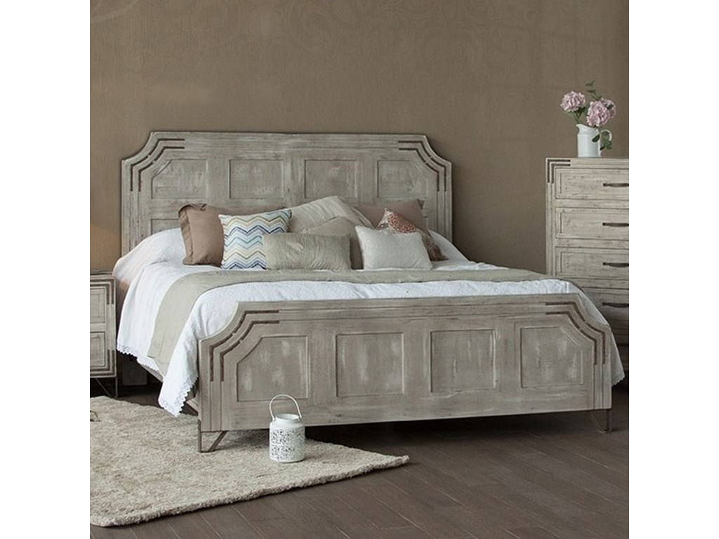 International Furniture Direct CameliaKing Platform Bed