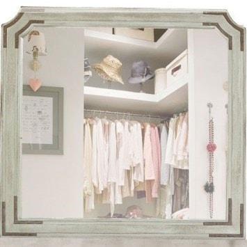 International Furniture Direct CameliaDresser Mirror