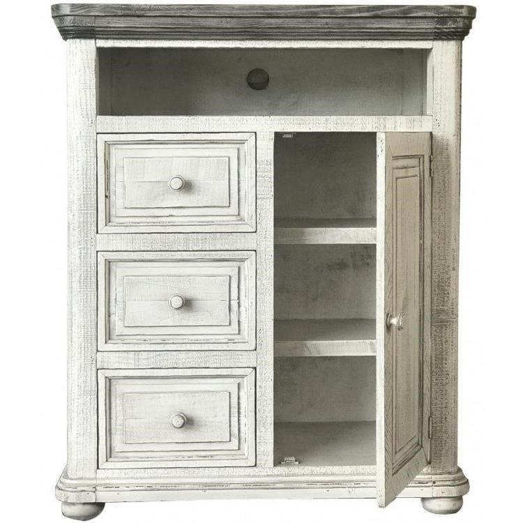 International Furniture Direct 768 LunaChest with Doors