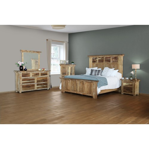 International Furniture Direct Casablanca Queen Bedroom Group
