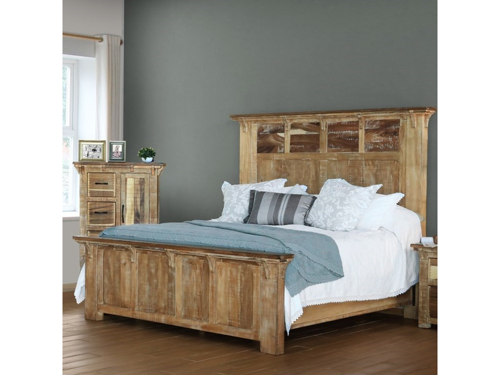 International Furniture Direct CasablancaKing Bed