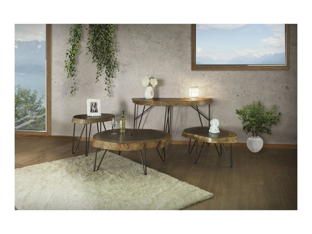 International Furniture Direct Vivo Occasional Table Group Miller