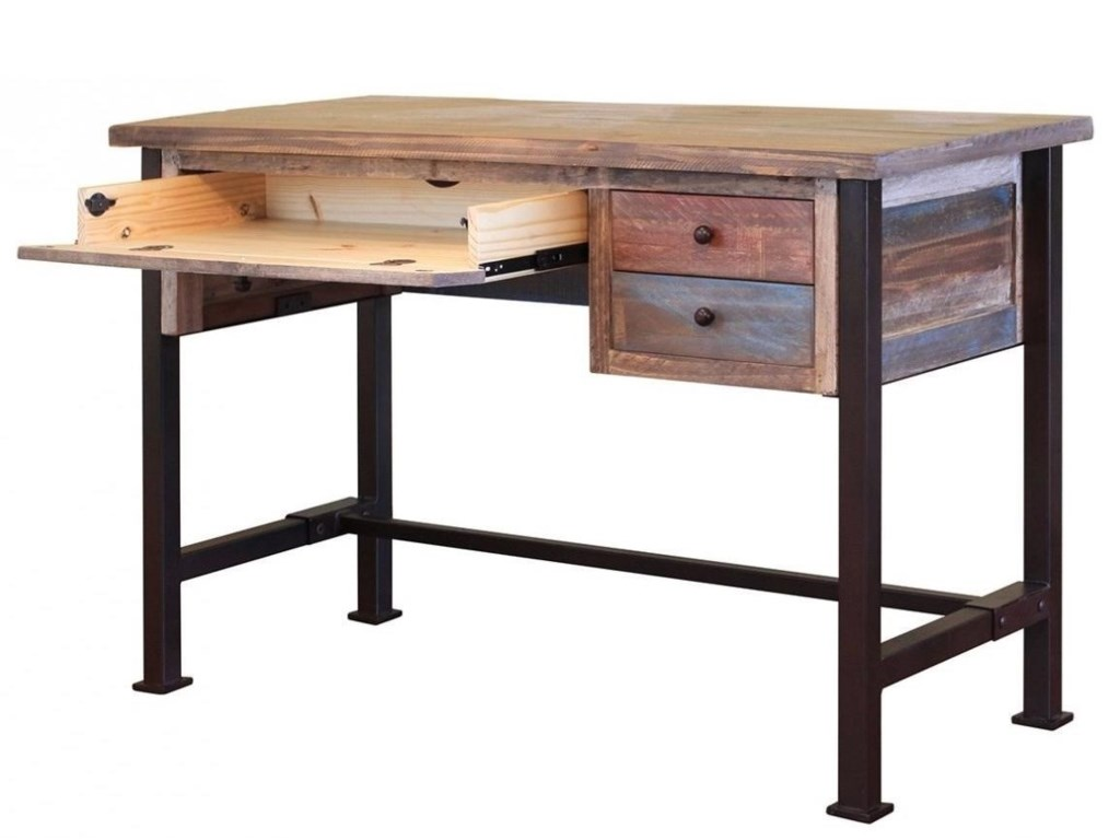 900 Antique Writing Desk With Distressed Finish By International Furniture Direct At Sheely S Furniture Appliance
