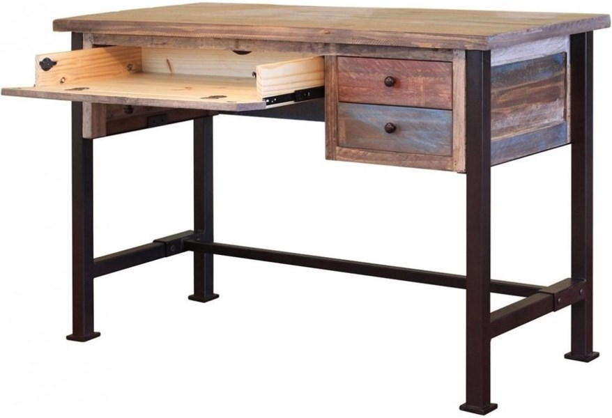 900 Antique Writing Desk With Distressed Finish By Vfm Signature At Virginia Furniture Market